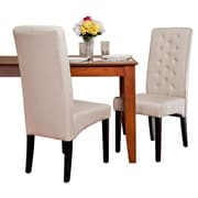 Home Loft Concepts Hereford Dining Chair (Set of 2); Natural