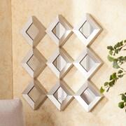 Wildon Home   Hutton Decorative Wall Mirror