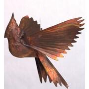 Ancient Graffiti Cardinals Ornament Wall Decor; Flamed