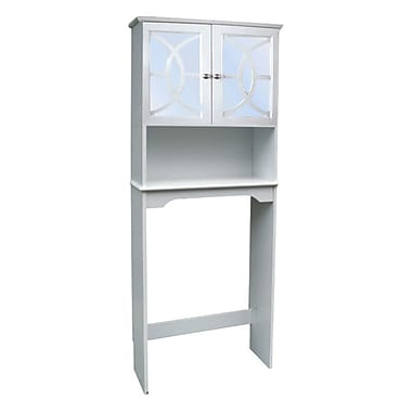 Hazelwood Home 24'' x 68'' Free Standing Over the Toilet