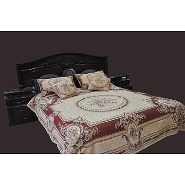 Tache Home Fashion Garden Bedspread Set; King
