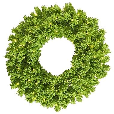 Vickerman Flocked Pine Wreath