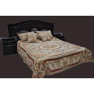 Tache Home Fashion Roman Garden Bedspread Set; King
