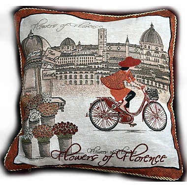 Tache Home Fashion Girls Day Outes Cushion Cover (Set of 2)