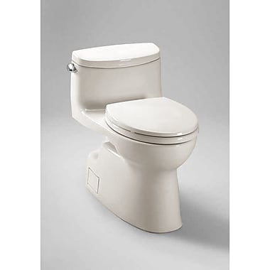 Toto Carolina II High Efficiency 1.28 GPF Elongated One-Piece Toilet; Colonial White