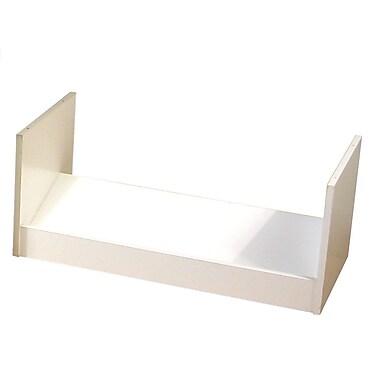 Venture Horizon 1-Tier 3 Pair Stackable Shoe Rack; White