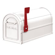 Salsbury Industries Post Mounted Mailbox; White
