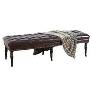 Home Loft Concepts Isaako Tufted   Entryway Bench