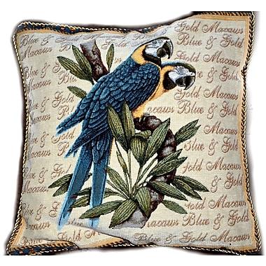 Tache Home Fashion Birds of Paradise Cushion Cover (Set of 2)