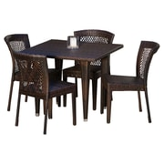 Home Loft Concepts Luminti 5 Piece Dining Set by