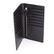 Royce Leather RFID-Blocking Bifold Credit Card Genuine Leather Wallet, Black (RFID-146-BLK-2)