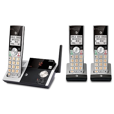 AT&T CL82315 2-Handset Cordless Phone with Digital Answering System