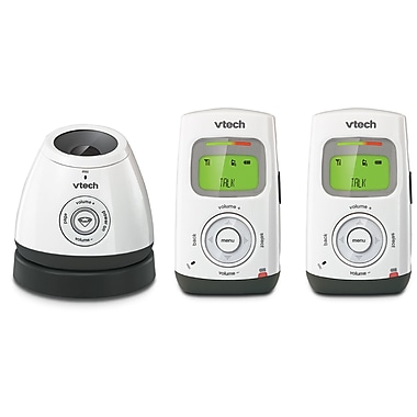 Vtech DM222-2 Safe&Sound® Digital Audio Monitor with Two Parent Units
