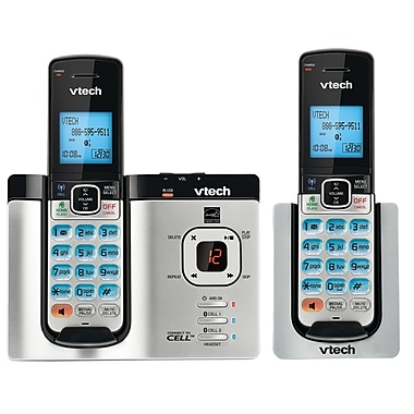 Vtech DS6621-2 2-Handset Connect to Cell with Answering System