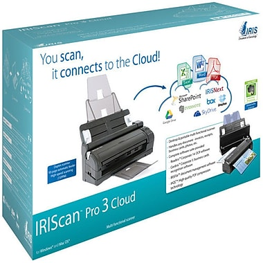 Iris® – Numériseur de documents portatif IRIScan Pro 3 Cloud