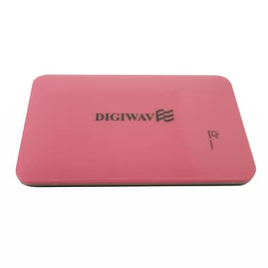Digiwave – Chargeur portable intelligent de 9000 mAh (0,4 x 5 x 3 po), rose