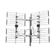 Electronic Master – Antenne TVHD multidirectionnelle ajustable, 32 x 48 x 10 po, argenté