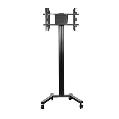 TygerClaw – Stand mobile pour téléviseur de 30 à 60 po, 72 x 30 x 24 po, noir