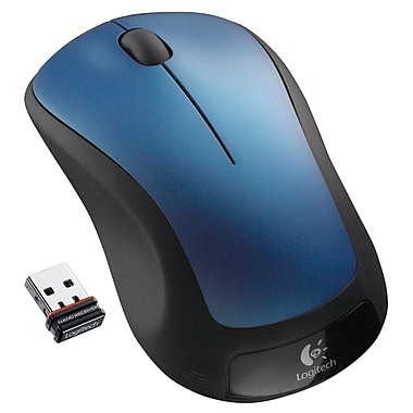 Logitech M310 Wireless Laser Mouse, Ambidextrous, Peacock Blue (910-001917)