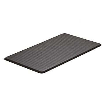 Imprint Cumulus —Tapis antifatigue, 20 x 36 x 5/8 po, de la collection Chevron, espresso
