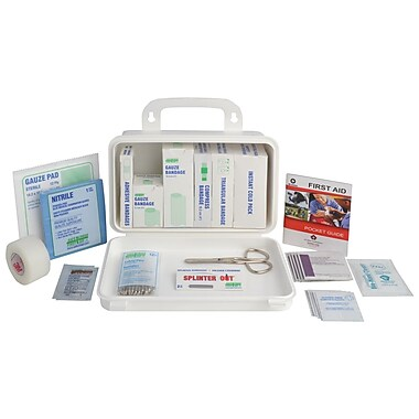 Quebec First Aid Kit for Truck, Plastic Box