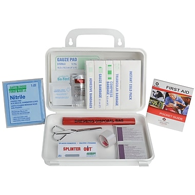 Manitoba First Aid Kit for Truck, Plastic Box