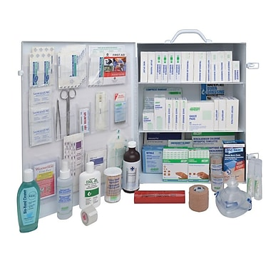 Crownhill Ontario Workplace Standard First Aid Kit, #6, Metal Cabinet