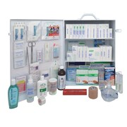 Ontario Workplace Standard First Aid Kit, #6, Metal Cabinet