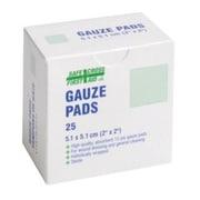 Crownhill – Compresses de gaze, 5,1 x 5,1 cm, stériles, paq./25