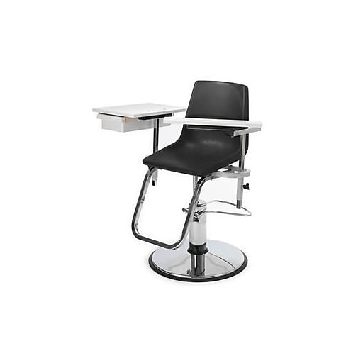 "Brandt Blood Drawing Chair with Drawer Hydraulic Adjustable, 19"" - 26"" x 17"", 250 lbs. (23700)"