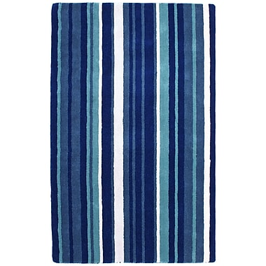 St. Croix Cosmo Navy Rug; Rectangle 5' x 8'