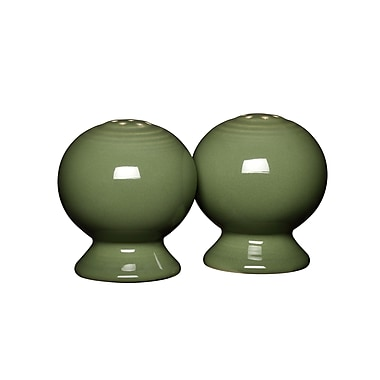 Fiesta Fiesta Salt & Pepper Set; Sage