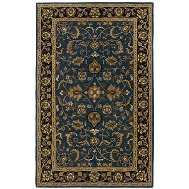St. Croix Traditions Mahal Blue Rug; Rectangle 5' x 8'