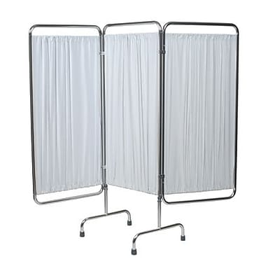 Graham Field Privacy Screen 3 Section Folding with White Panels