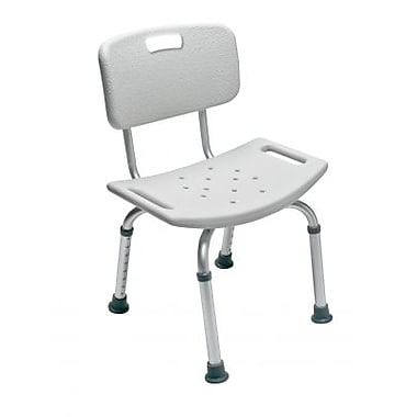 Graham Field Bath Seat with Backrest 350Lb Capacity