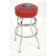 Imperial NCAA 30'' Swivel Bar Stool; Oklahoma