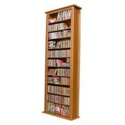 Venture Horizon VHZ Entertainment Large Single Multimedia Storage Rack; Oak