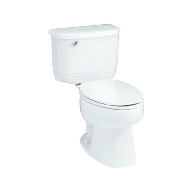 Sterling by Kohler Riverton ADA 1.6 GPF Luxury Height Elongated 2 Piece Toilet; White