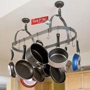 Enclume RACK IT UP! Ceiling Oval Hanging Pot Rack