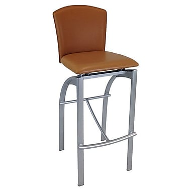 Creative Images International 31.5'' Bar Stool; Brown