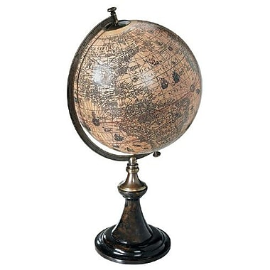 Authentic Models Classic Hondius Globe w/ Stand