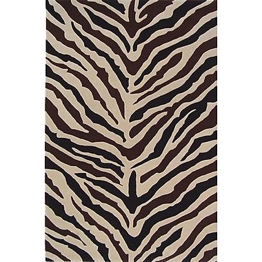 Meva Rugs Sway Zebra Rug; 8' x 10'