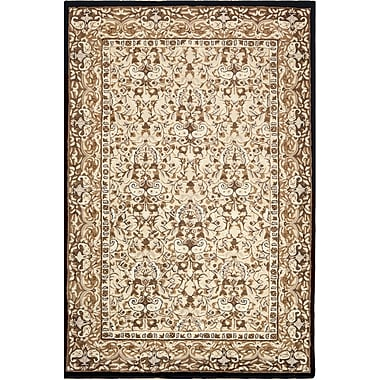 American Home Rug Co. American Home Classic Sivas Taupe/Black Area Rug; 5'6'' x 8'6''