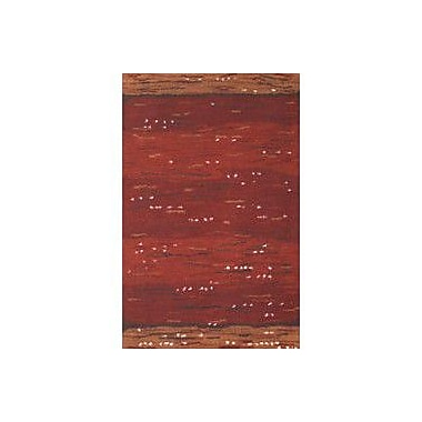 American Home Rug Co. Casual Contemporary Rust Earth Valley Area Rug; Runner 2'6'' x 8'