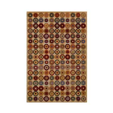 Noble House Noble Beige Area Rug; 4' x 6'