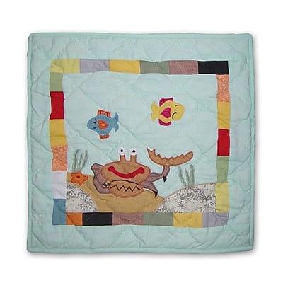 Patch Magic Kids Aquarium Cotton Throw Pillow