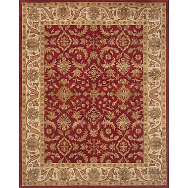 Continental Rug Company Pardis Red Rug; 2' x 3'