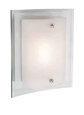 TransGlobe Lighting 1 Light Wall Sconce; 10.25'' H x 9'' W x 3.5'' D
