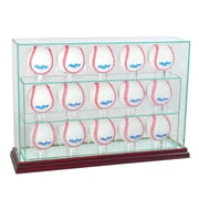 Perfect Cases 15 Baseball Upright Display Case