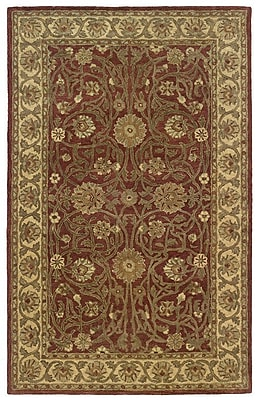 Continental Rug Company Meadow Breeze Rust Rug; Rectangle 2' x 3'